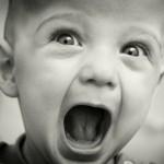 bağıran çocuk